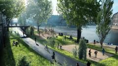 Paris : la voie Georges Pompidou fermée aux voitures à l'été 2016