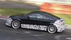 Le futur Audi TT RS s'échauffe sur le Nürburgring