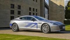 Aston Martin : 1ères images de la RapidE Concept