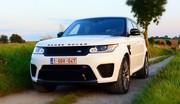 Essai Range Rover Sport SVR : Le plein de décibels !