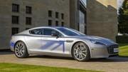 Aston Martin RapidE concept : une Tesla Model S au superlatif ?