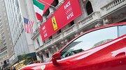 Wall Street : Ferrari réussit son entrée en bourse
