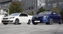Renault Mégane 4 vs Peugeot 308 : premier match !