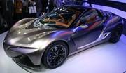 Yamaha Sports Ride Concept : fleur de Lotus