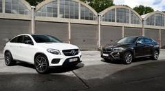 Essai BMW X6 contre Mercedes GLE : les SUV mis à sac !