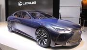 Lexus LF-FC concept : la future Lexus LS au salon de Toyo 2015
