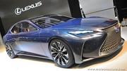 Lexus LF-FC concept, l'hydrogène au superlatif