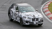 Le futur SUV Maserati montre ses formes définitives