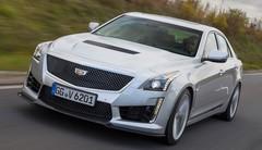 Essai Cadillac CTS-V (2016) : Corvette coffrée