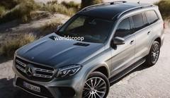 Le Mercedes GLS tombe sur la toile