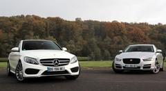 Essai Jaguar XE vs Mercedes Classe C : candidats aux européennes