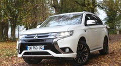 Essai Mitsubishi Outlander PHEV 2016 : le style en plus