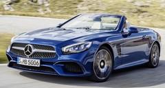 Mercedes SL 2016 : Étoile en fuite