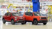 Le succès des Fiat 500X et Jeep Renegade fait augmenter leur production