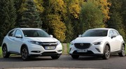 Essai Mazda CX3 vs Honda HR-V : le derby