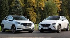Essai Mazda CX3 vs Honda HR-V : le derby