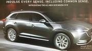 Le nouveau Mazda CX-9 en fuite