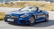 Mercedes SL 2016 : Elle se penche dans les courbes !