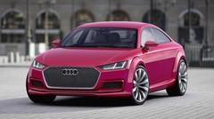 L'Audi TT Sportback de série au salon de Canton ?