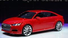 Audi : le TT sportback de série au salon de Canton
