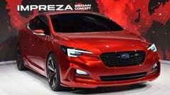 Subaru Impreza Sedan Concept : en 4 portes
