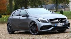 Essai Mercedes Classe A 45 AMG restylée : l'outrancière