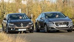 Essai : la Renault Talisman face à la Peugeot 508, le choc !