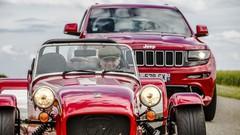 Essai Caterham Seven 275 S contre Jeep Grand Cherokee SRT : La plume et l'enclume