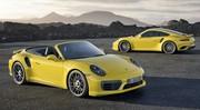 Porsche dévoile les 911 Turbo et Turbo S restylées