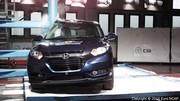 Crash-tests Euro NCAP : 5 étoiles pour les HR-V, Jazz et A4