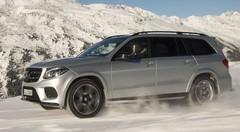 Essai Mercedes GLS (2016) : Canon à neige