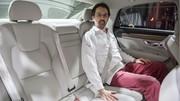 Volvo S90 (2016) : L'argus déjà à bord de la limousine Volvo