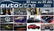 Les titres de l'actualité auto du 30 nov. au 05 déc. 2015