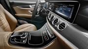 L'intérieur de la Mercedes Classe E