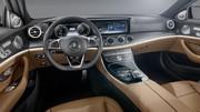 Intérieur Mercedes Classe E 2016 : Révélation intérieure