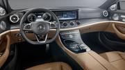 Mercedes Classe E (2016) : 1res photos officielles de l'intérieur