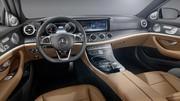 Mercedes Classe E 2016 : l'intérieur dévoilé
