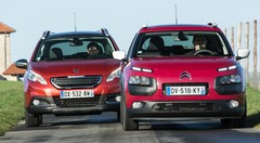 Essai comparatif : le Citroën C4 Cactus 2015 défie le Peugeot 2008