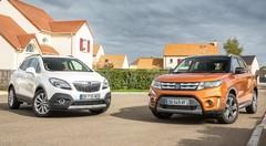 Essai Opel Mokka vs Suzuki Vitara : Transports urbains