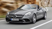 Salon Detroit 2016 : Mercedes SLC