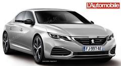 Future Peugeot 508 : L'allure d'un coupé