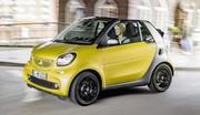 Smart Fortwo Cabriolet 2016 : tous les prix à partir de 15.250 euros