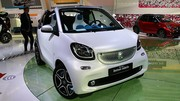 Smart Fortwo Cabriolet : les tarifs