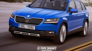 Skoda : le futur grand SUV s'appellerait Kodiak