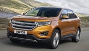 Le Ford Edge ouvre ses carnets de commande