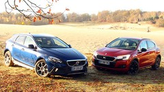 Essai DS4 Crossback vs Volvo V40 CrossCountry