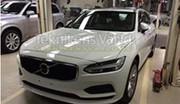 Surprise : la Volvo V90 s'échappe