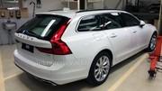 Volvo V90 (2016) : première photo du nouveau break Volvo