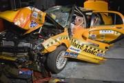 Brillance au crash test : pas brillant brillant