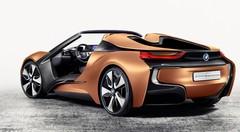 Une BMW i8 Spyder bardée de technologie pour le CES